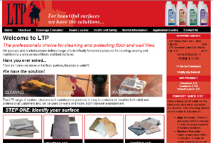 LTP - On-line shop for tile cleaners, sealants and maintenance products
